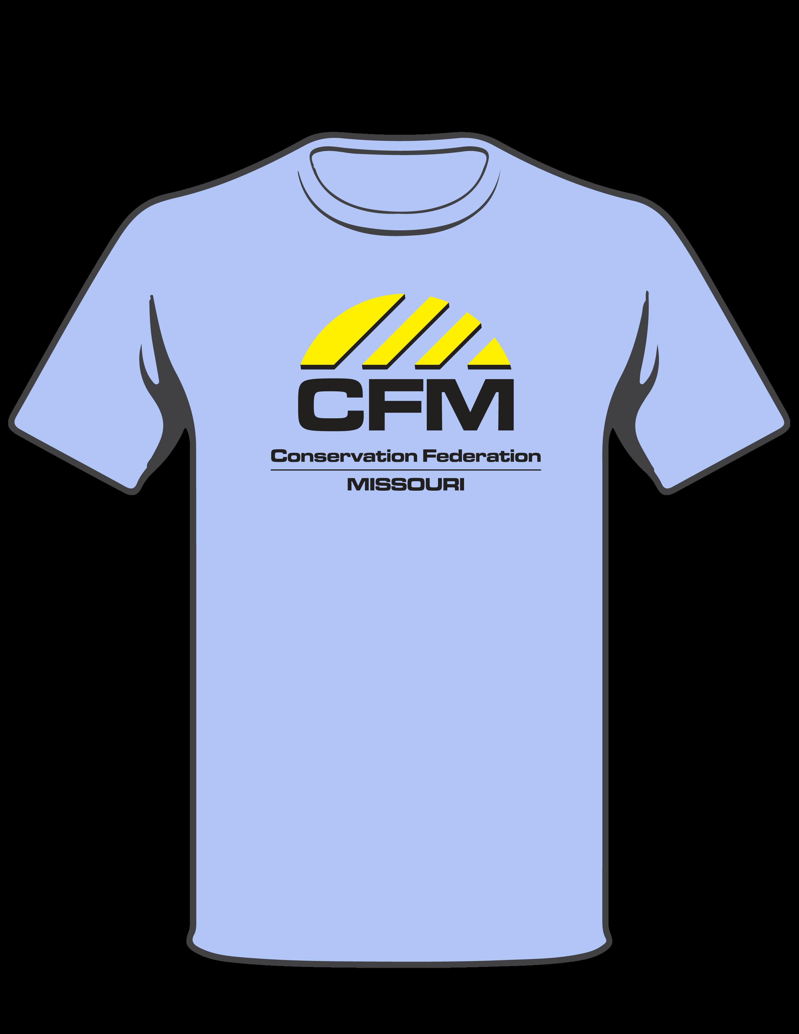 cfm logo. cfm logo shirt - blue cfm t