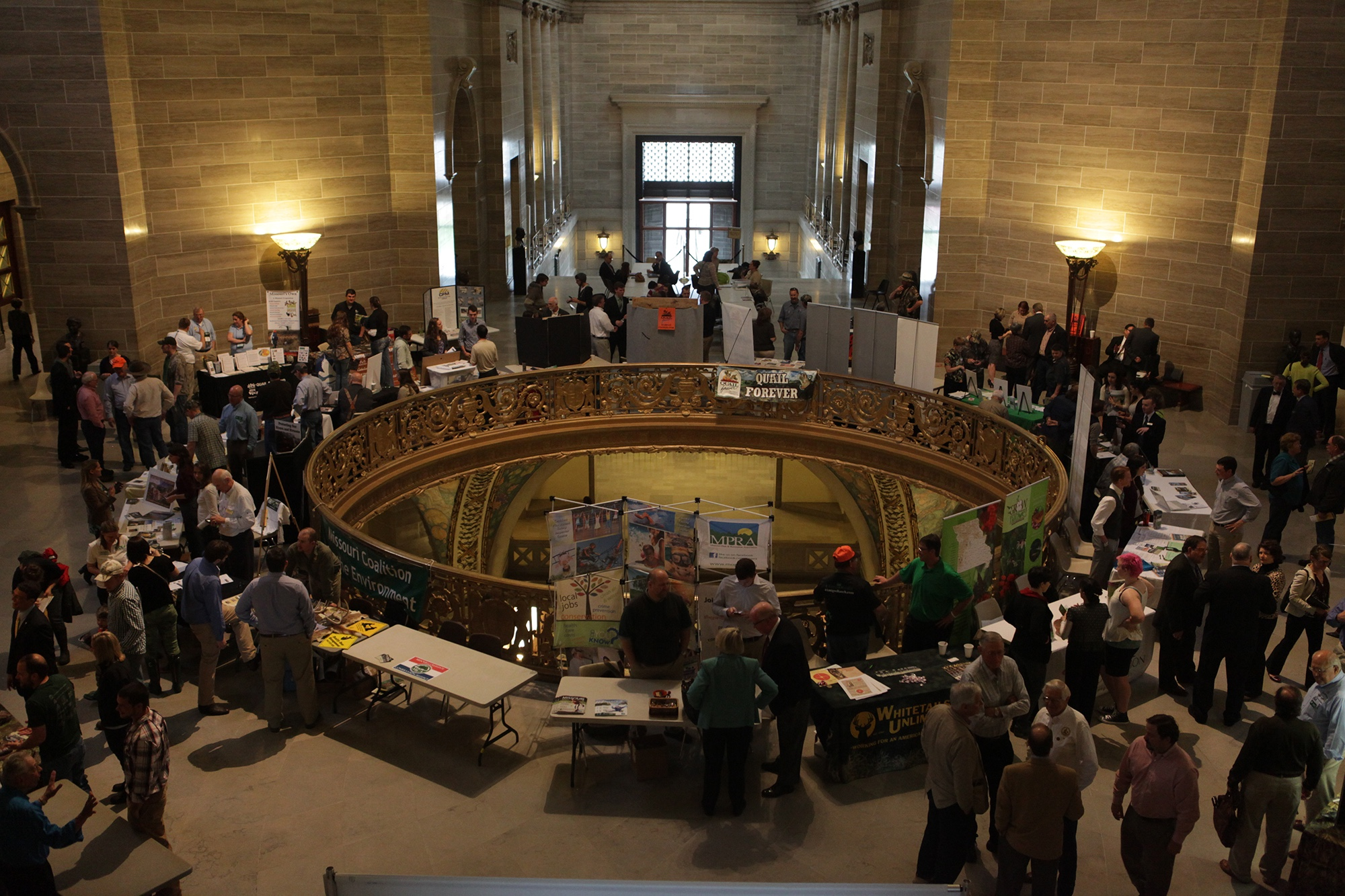 On April 12, Conservation Day at the Capitol will bring together hundreds of conservationists at the State Capitol from around Missouri.